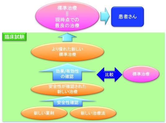 臨床試験と標準治療